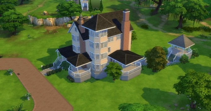 210 Wright Way house by train nerd24 at Mod The Sims image 3927 670x353 Sims 4 Updates