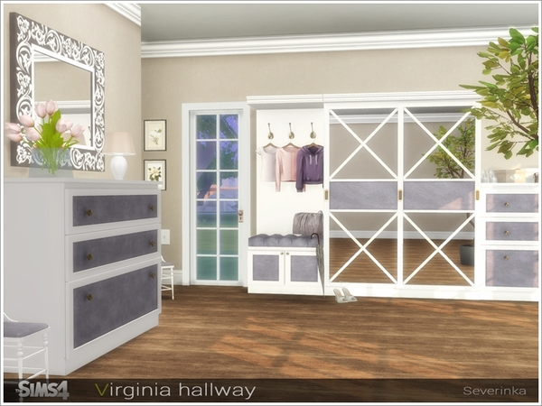 Virginia hallway by Severinka at TSR image 39301 Sims 4 Updates