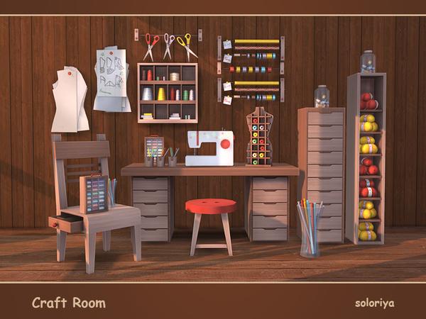 Craft Room by soloriya at TSR image 4010 Sims 4 Updates