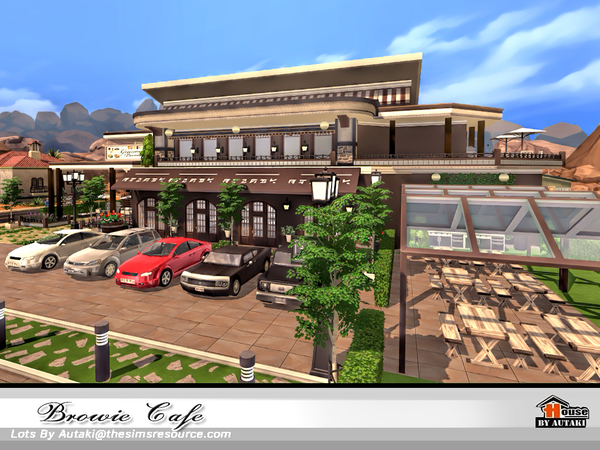 Browie Cafe by autaki at TSR image 4015 Sims 4 Updates