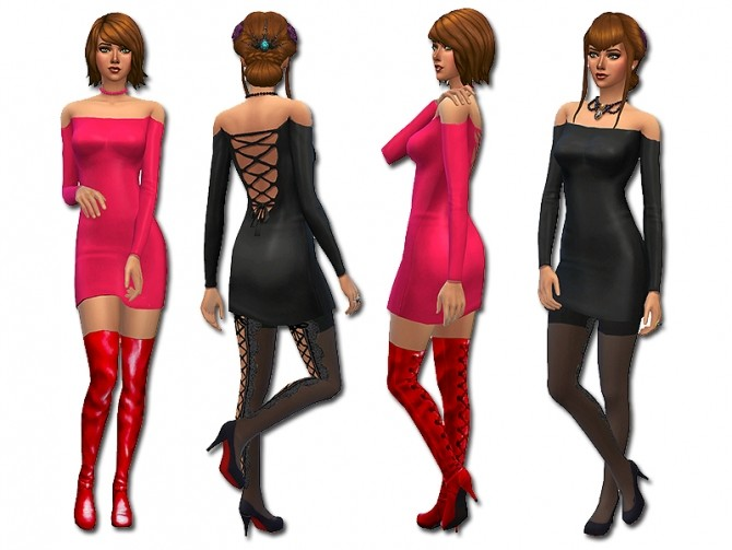 Strapped backed dress by Simalicious at Mod The Sims image 4018 670x503 Sims 4 Updates