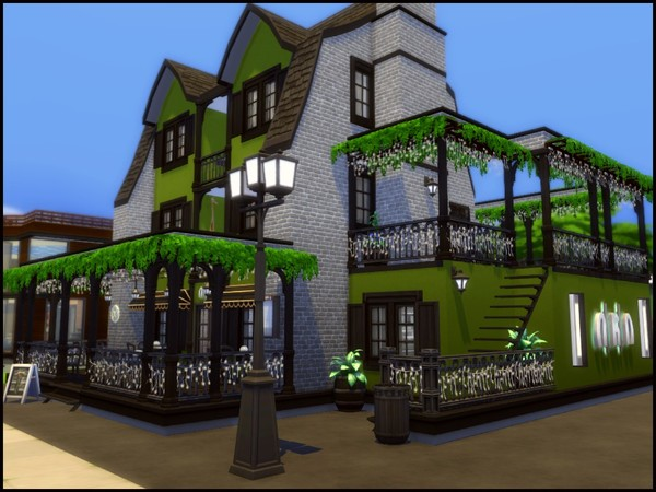 Olive Court Restaurant by sparky at TSR image 4104 Sims 4 Updates