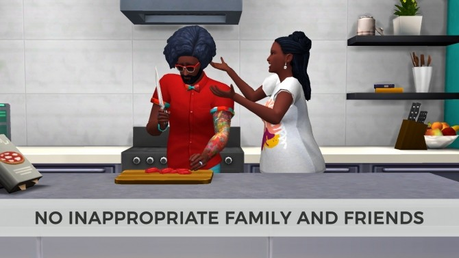 No Inappropriate Family and Friends updated for 1.37 by edespino at Mod The Sims image 4112 670x377 Sims 4 Updates