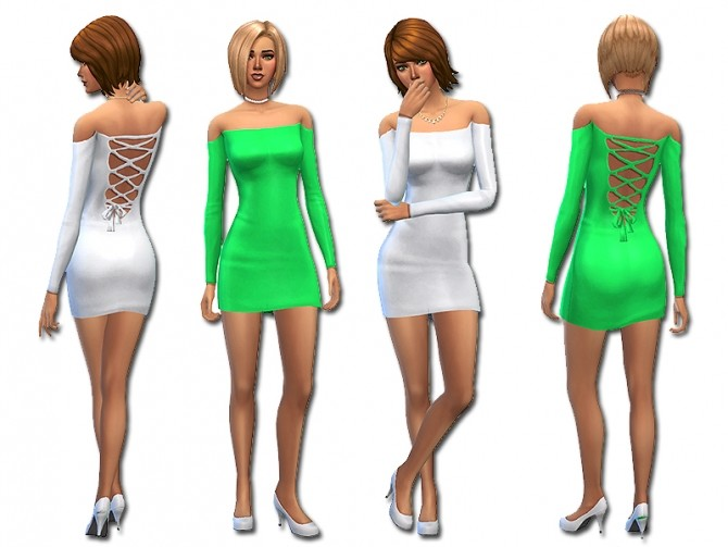 Strapped backed dress by Simalicious at Mod The Sims image 4117 670x503 Sims 4 Updates