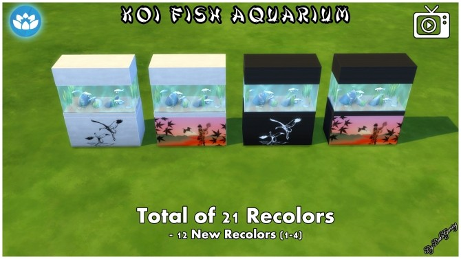Koi Fish Aquarium by Bakie at Mod The Sims image 4123 670x377 Sims 4 Updates