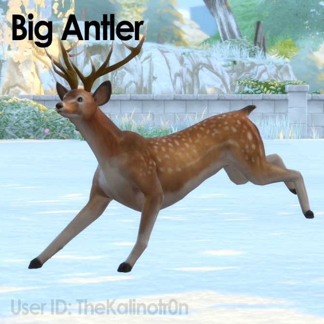 Big Antlers by TheKalino at Mod The Sims image 4124 670x670 Sims 4 Updates