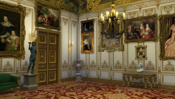 Versailles Wall Paneling Multistory At Regal Sims 187 Sims 4