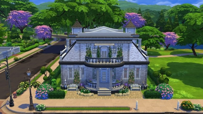 Blueprint Dream House NOCC by OxanaKSims at Mod The Sims image 4138 670x377 Sims 4 Updates