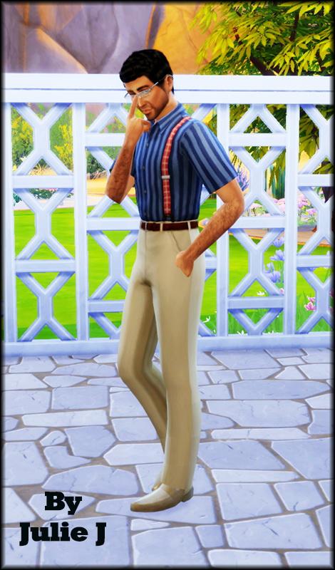 Male Braces & Pants at Julietoon – Julie J image 4201 Sims 4 Updates