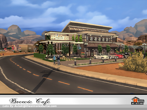 Browie Cafe by autaki at TSR image 4215 Sims 4 Updates