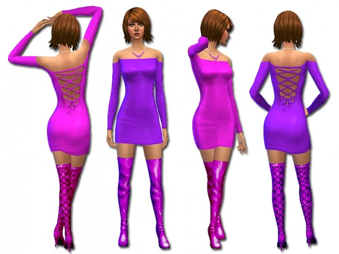 Strapped backed dress by Simalicious at Mod The Sims image 4217 670x503 Sims 4 Updates