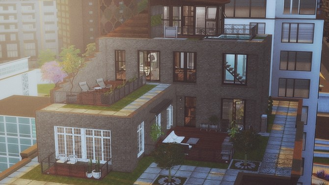 Sims 4 #97 Penthouse Luna at SoulSisterSims