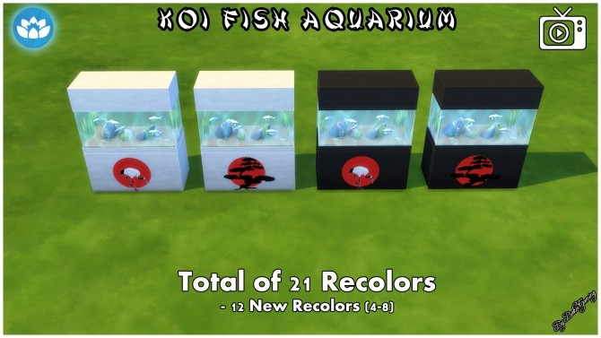 Koi Fish Aquarium by Bakie at Mod The Sims image 4223 670x377 Sims 4 Updates