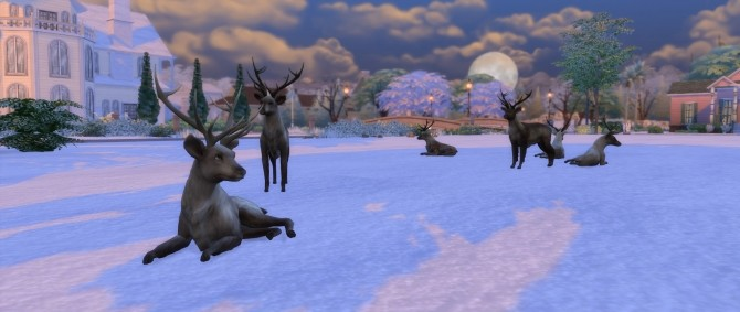 Big Antlers by TheKalino at Mod The Sims image 4224 670x283 Sims 4 Updates