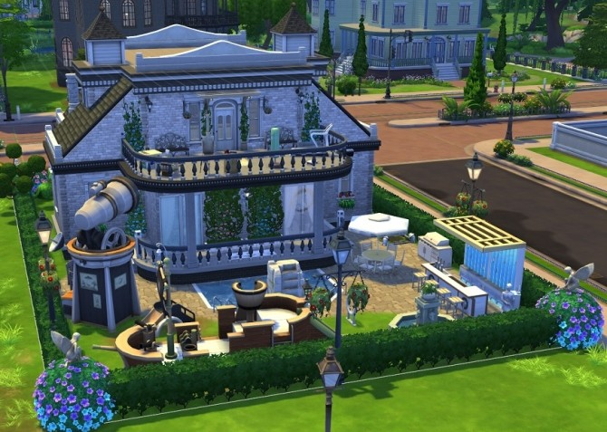 Blueprint Dream House NOCC by OxanaKSims at Mod The Sims image 4233 670x477 Sims 4 Updates