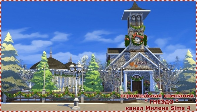 Church for the wedding at Sims by Mulena image 427 670x379 Sims 4 Updates