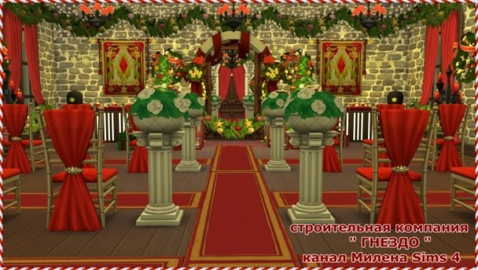 Church for the wedding at Sims by Mulena image 429 670x379 Sims 4 Updates