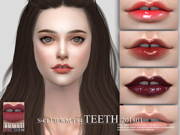 Teeth 201801 by S Club WM at TSR image 4310 Sims 4 Updates