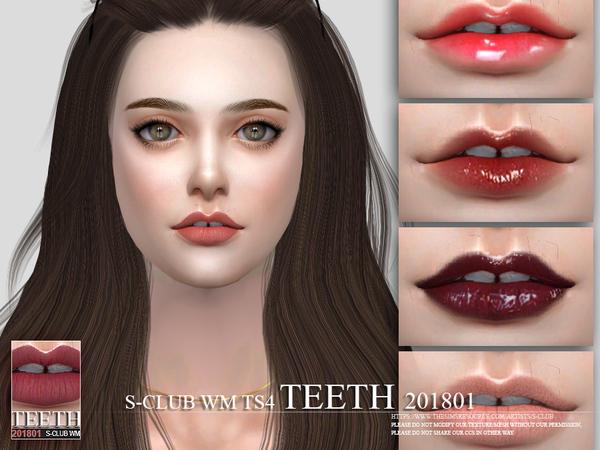 Teeth 201801 by S Club WM at TSR image 4310 Sims 4 Updates