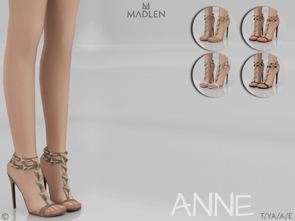 Sims 4 Madlen Anne Shoes by MJ95 at TSR