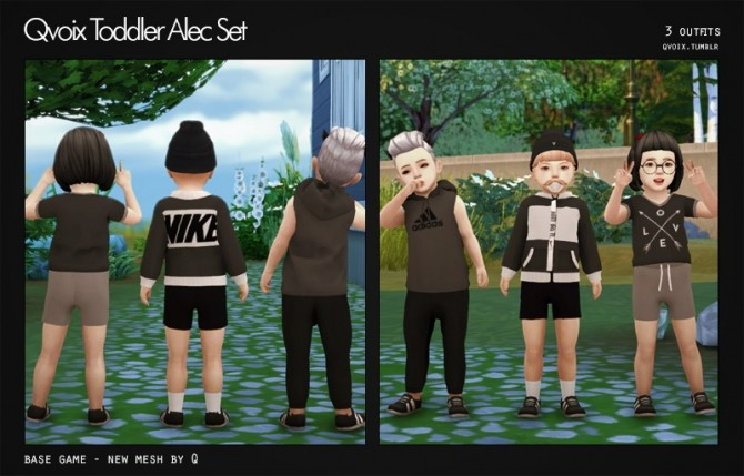 Sims 4 Alec Set T at qvoix – escaping reality