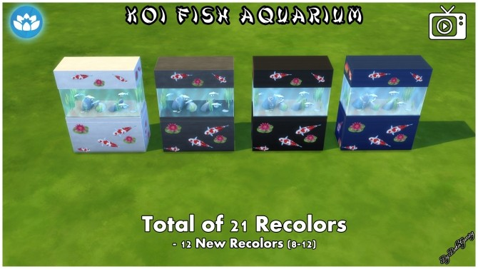 Koi Fish Aquarium by Bakie at Mod The Sims image 4323 670x377 Sims 4 Updates