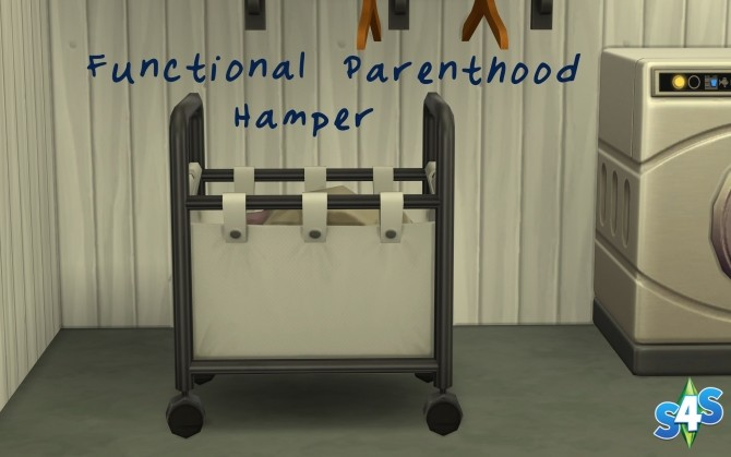 Functional Parenthood Hamper by Athena Apollos at Mod The Sims image 4327 670x419 Sims 4 Updates