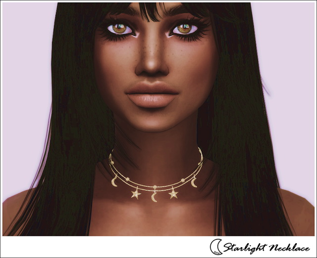 Sims 4 STARLIGHT NECKLACE at Blue8white