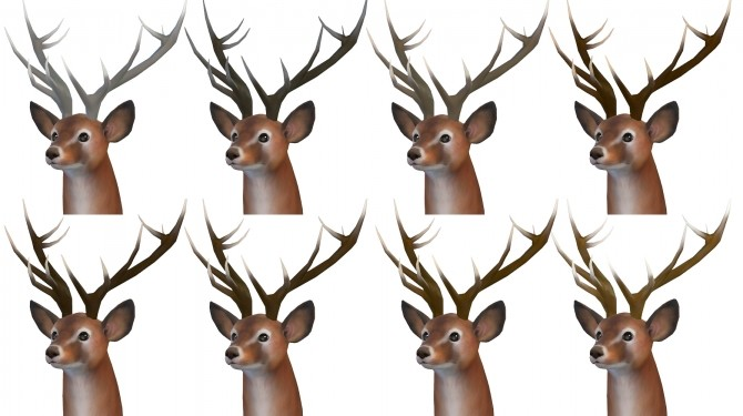 Big Antlers by TheKalino at Mod The Sims image 4424 670x375 Sims 4 Updates
