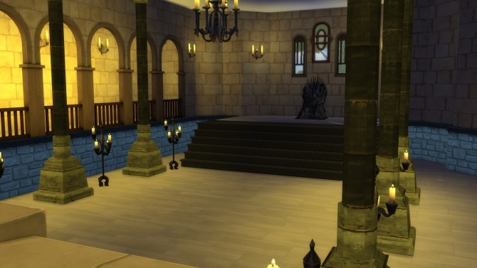 The Red Keep castle by Rachael3807 at Mod The Sims image 4511 670x377 Sims 4 Updates
