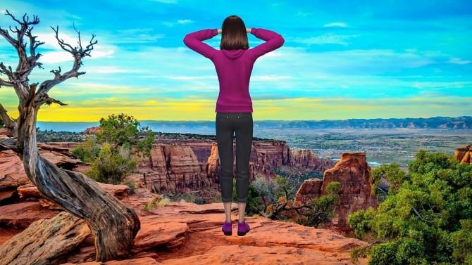 Canyon Colorado CAS Background at CatySix image 4525 670x377 Sims 4 Updates