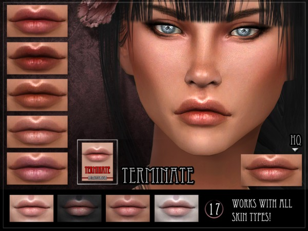 Terminate Lipstick by RemusSirion at TSR image 4526 Sims 4 Updates