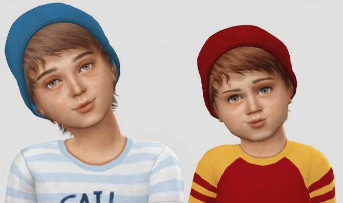 Sims 4 Stealthic Psycho Hair + Beanie T+K at Simiracle
