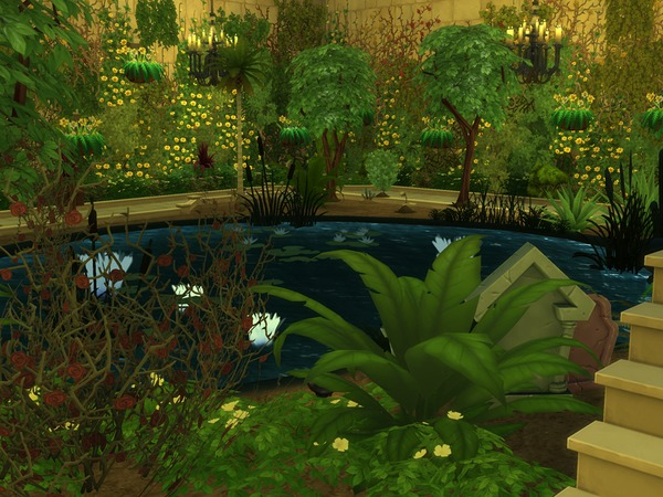 The Forgotten Temple by kilra at TSR image 459 Sims 4 Updates