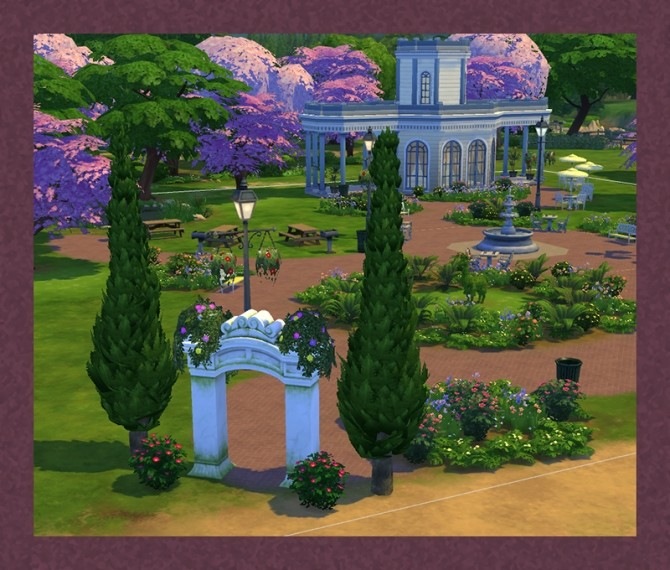 Sims 4 Triumphal Arch of Gluteus Minimus by Simmiller at Mod The Sims