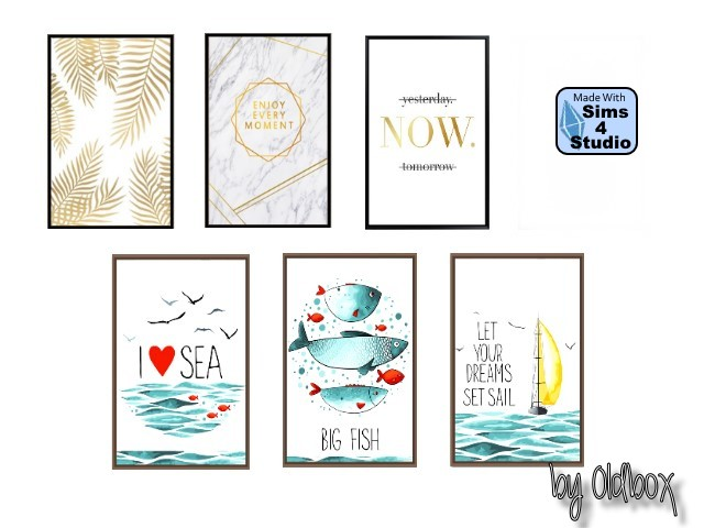 Posters by Oldbox at All 4 Sims image 475 Sims 4 Updates