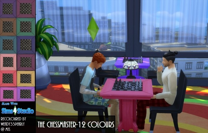 The Chessmaster SET 12 Colours by wendy35pearly at Mod The Sims image 4810 670x429 Sims 4 Updates