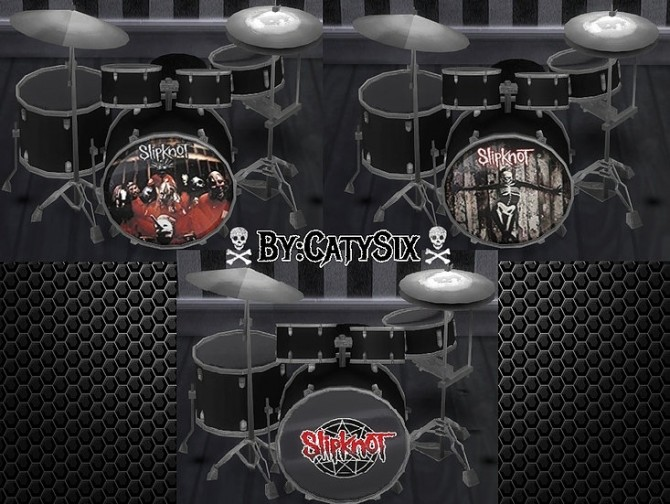Playable Drums V3 at CatySix image 4910 670x504 Sims 4 Updates