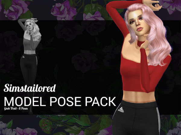 Model Pose Pack Geek Trait by Simstailored at TSR image 514 Sims 4 Updates