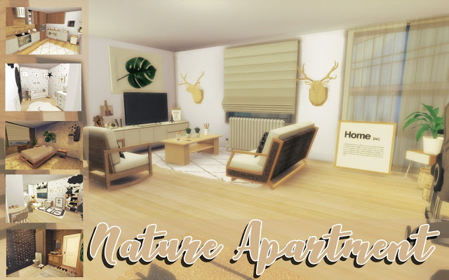 Nature Apartment Renovation at MSQ Sims image 517 Sims 4 Updates