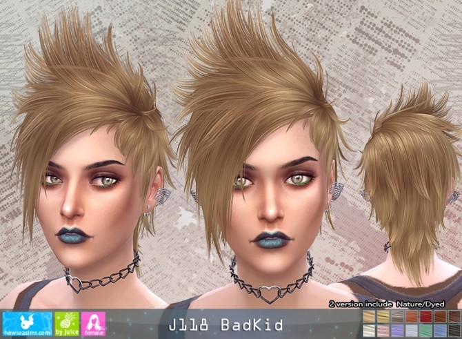 J118 BadKid hair F (pay) at Newsea Sims 4 image 519 670x491 Sims 4 Updates