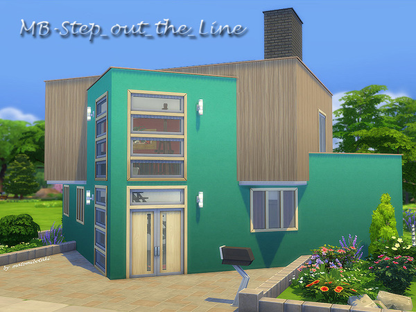 Sep out the Line family home by matomibotaki at TSR image 520 Sims 4 Updates