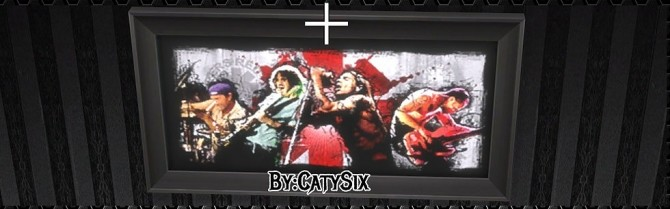 Sims 4 Bands Posters V2 at CatySix