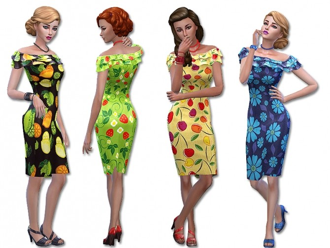 Sunny dress by Simalicious at Mod The Sims image 5219 670x503 Sims 4 Updates