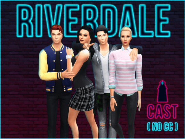 RIVERDALE CAST by Waterwoman at Akisima image 5220 Sims 4 Updates
