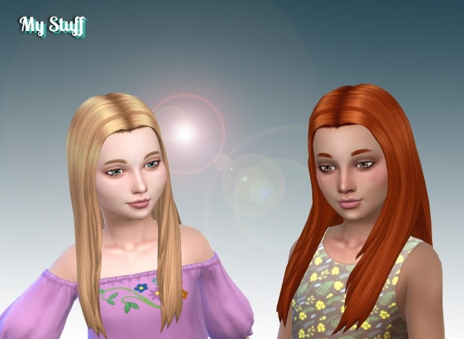 Allison Hair for Girls at My Stuff image 5224 670x490 Sims 4 Updates