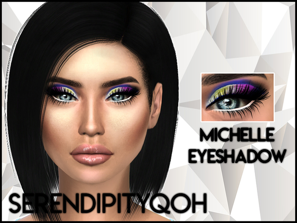 Sims 4 Michelle Eyeshadow by SerendipityQOH at TSR