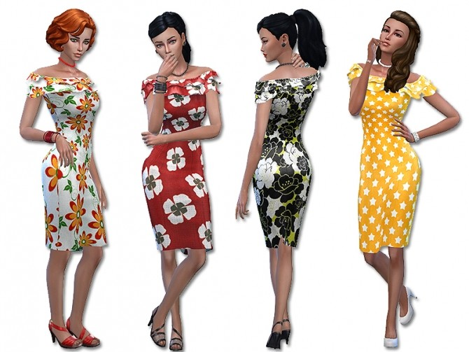 Sunny dress by Simalicious at Mod The Sims image 5317 670x503 Sims 4 Updates