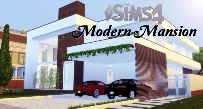 Modern Mansion at Lily Sims image 543 670x361 Sims 4 Updates