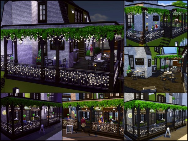 Olive Court Restaurant by sparky at TSR image 560 Sims 4 Updates